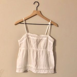 Loft Embroidered Tank Top